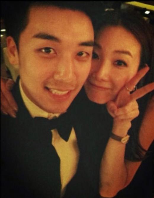 Seungri Big Bang & Choi Ji Woo