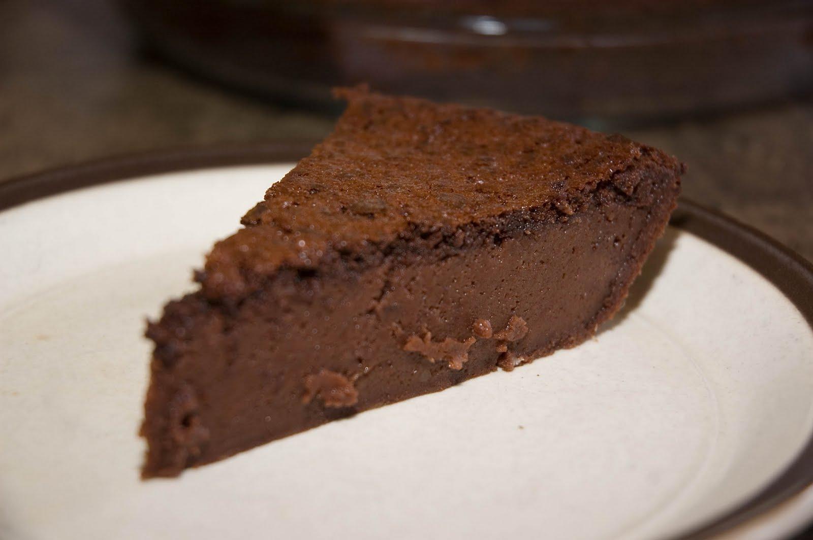tarte impossible au chocolat doumdoum se r gale. Black Bedroom Furniture Sets. Home Design Ideas