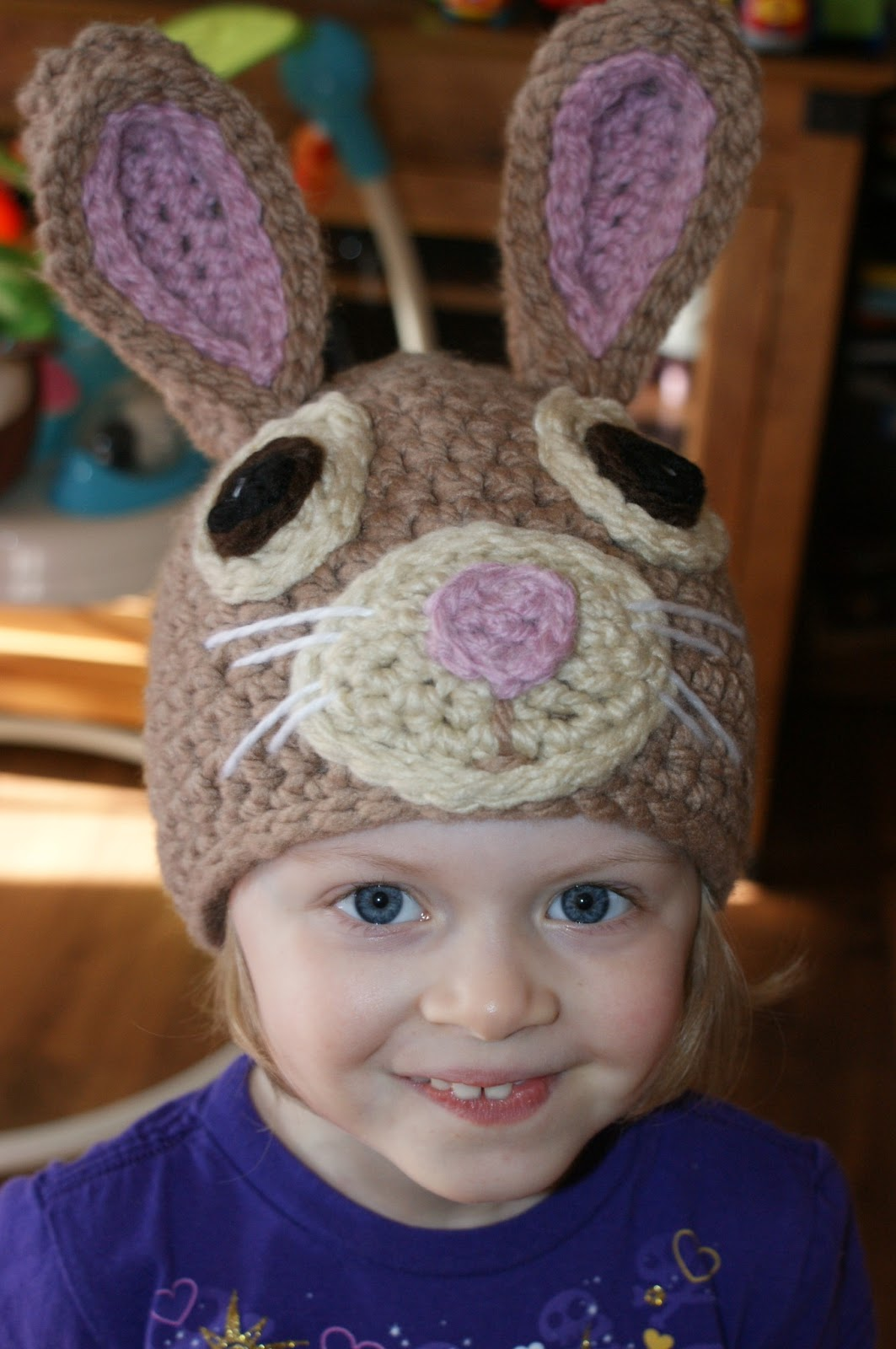Darlas Bunny Hat Oombawka Design Crochet
