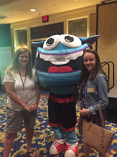 Megan Shea and Fran Shea with Freckles from GoNoodle.