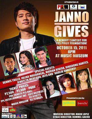 Janno Gibbs Concert