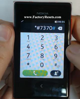 Hard Reset Nokia Asha 503 Dual SIM