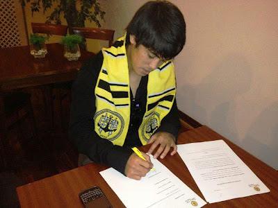Nazmi Faiz Mansor tangani kontrak dengan SC Beira-Mar