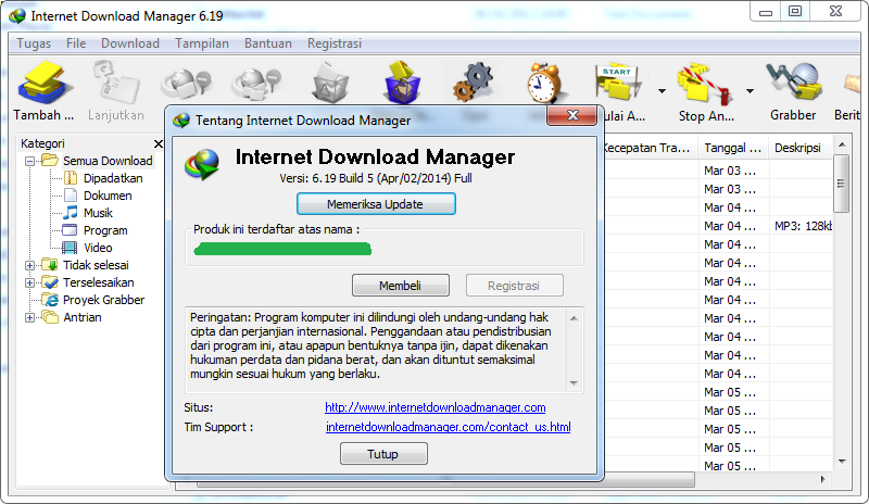 Internet Download Manager 5.3 Free Download With Crack File