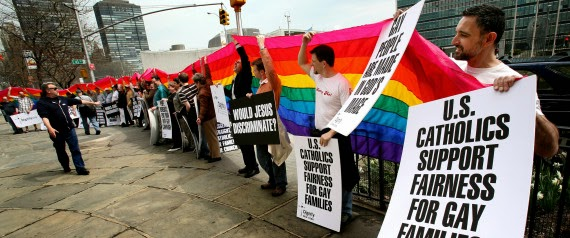 Overwhelming 85% Of Young American Catholics Support Gays And Lesbian, Pew Report