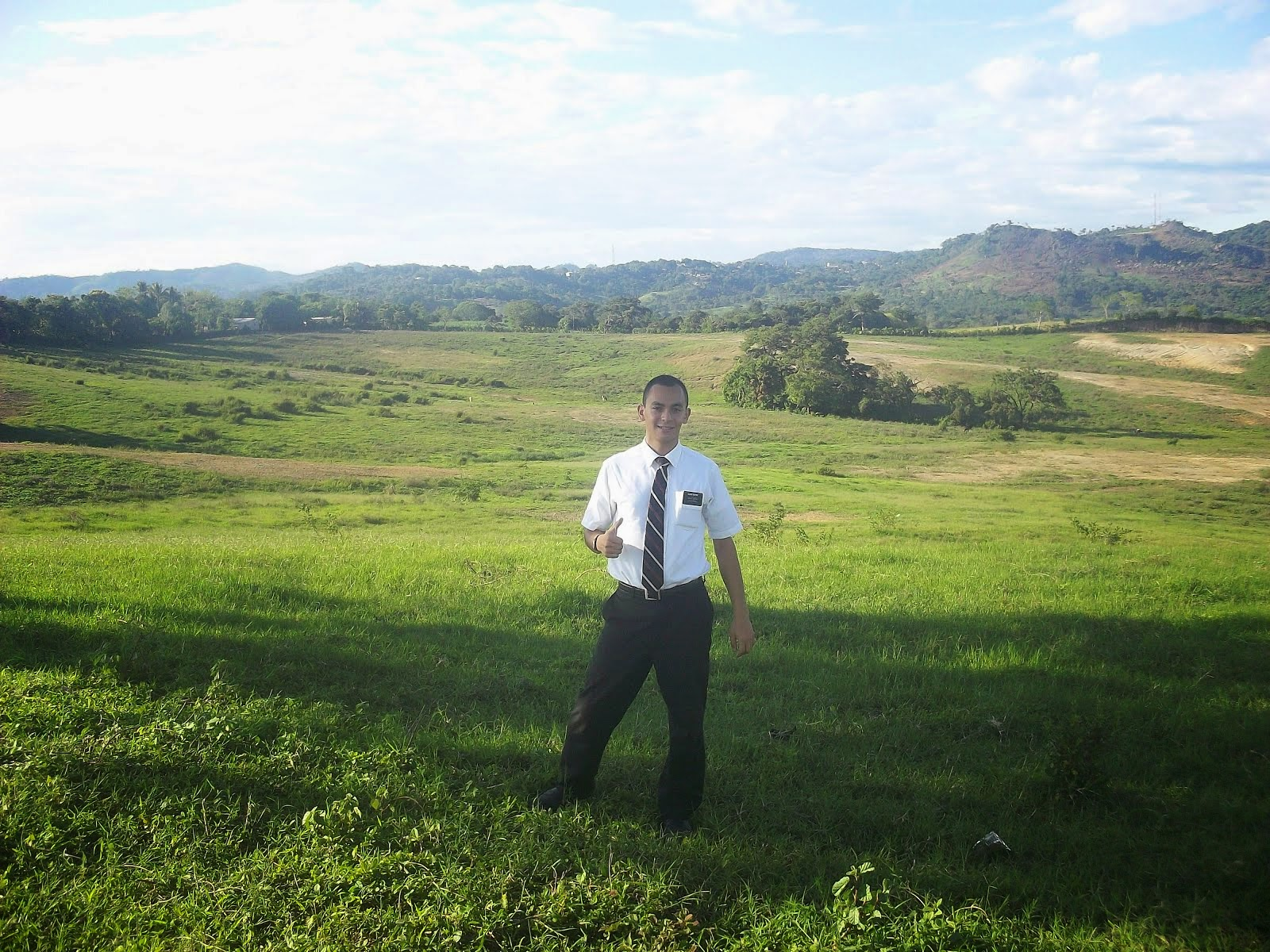 Elder Haynie in Ilobasco May 2014.