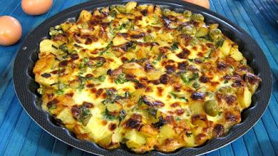 طريقة عمل فريتاتا البيض والبطاطس, فريتاتا البيض, بطاطس, الفريتاتا, بيض