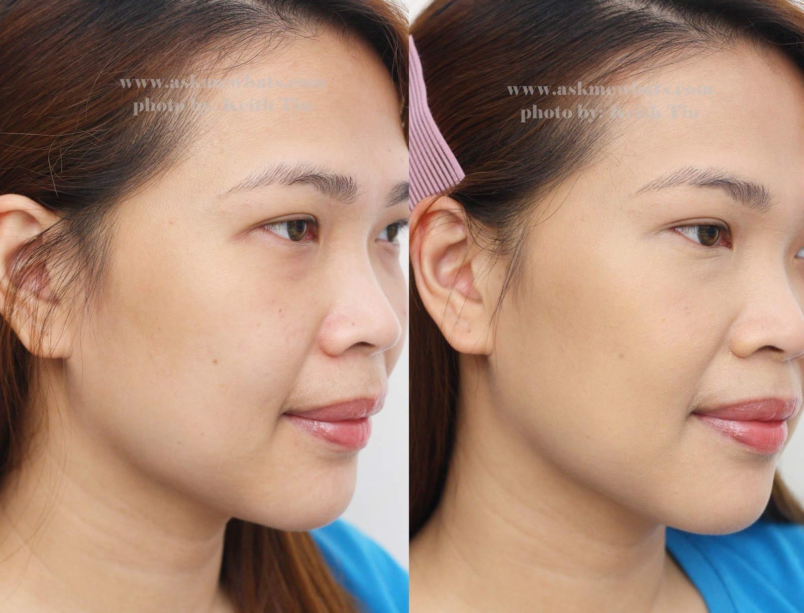Askmewhats top beauty blogger philippines skincare makeup front view before and after baditri Image collections