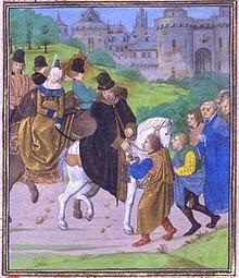 El Duque de Lancaster y su esposa en Santiago de Compostela