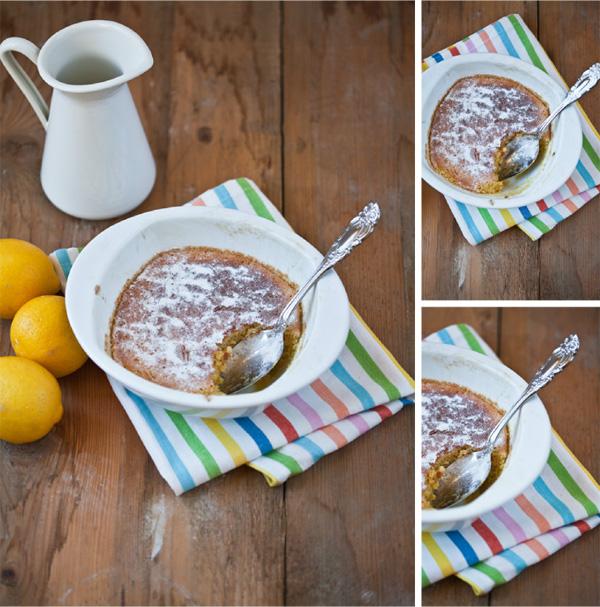 Collage Zitronen Pudding