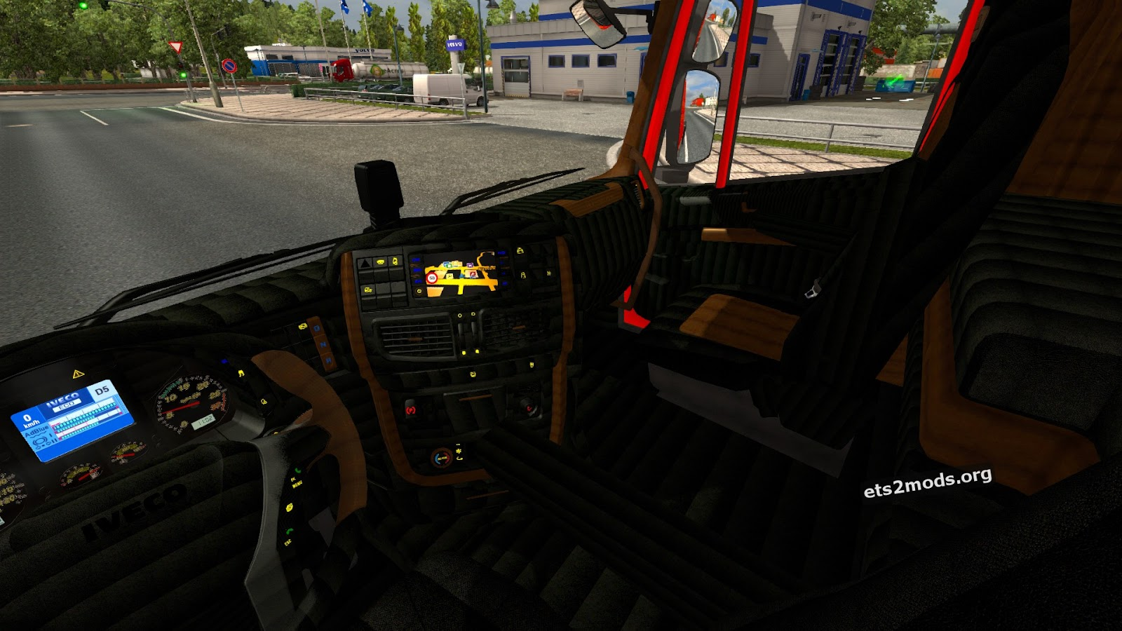 Interiors for iveco hi way and stralis scs ets2 mods for Scs interiors