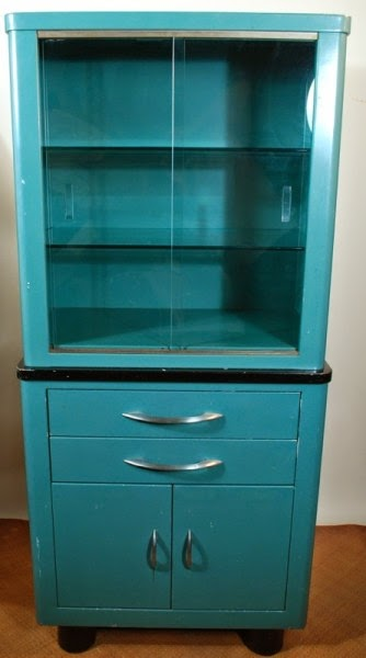 Red Telly: Vintage Medical Cabinets