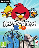 Angry Birds Rio Cover, Poster