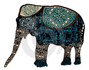 Indian elephant design...