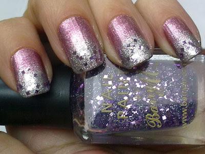 Laura Paige 34 Limited Edition, Saffron Colour 13 and Barry M 239 Lavender Hexograms