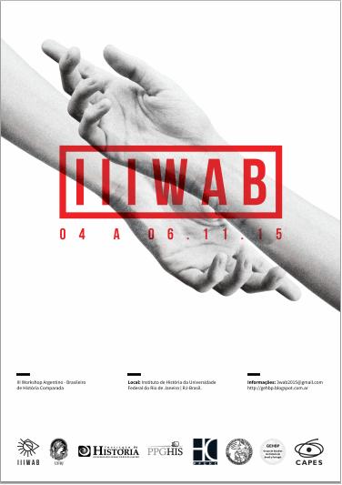 III WAB. IH, UFRJ. 4 a 6 de noviembre 2015