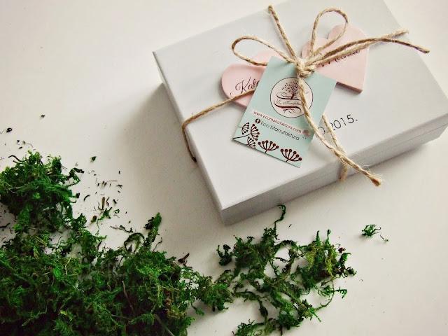 eco manufaktura ślubne pudełeczko na obrączki