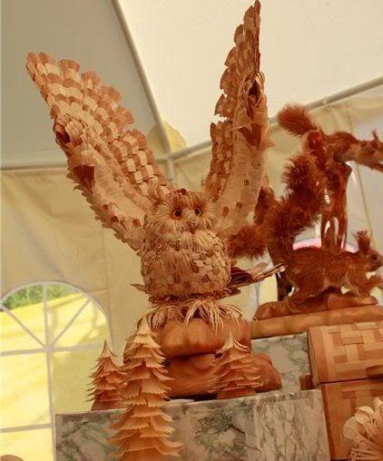 copeaux de bois par Sergei Bobkov