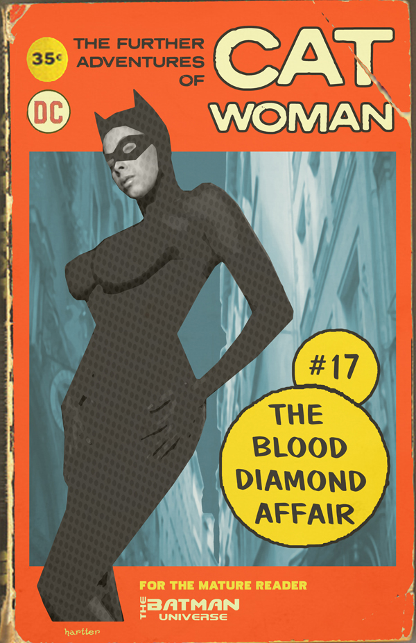 Really Cool Book Cover ~ From the batcave and beyond retro batman dc covers