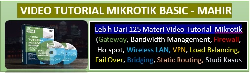Ready > 200 Video Tutorial Mikrotik Materi Mulai Basic - Mahir Order 081214518859