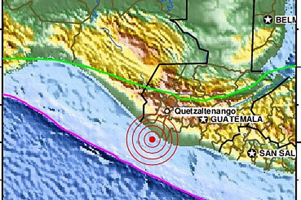 7.4 earthquake strike off the coast of El Salvador is a warning of Tsunami