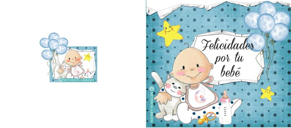 Postales de felicitaciones por el nacimiento de un bebé - Imagui