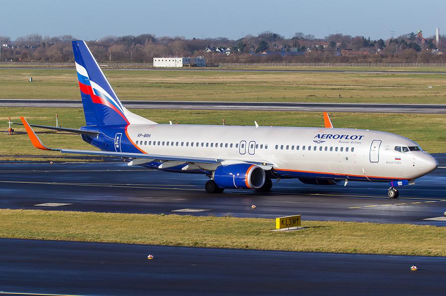 Aeroflot suma el décimo Boeing 737-800 a su flota