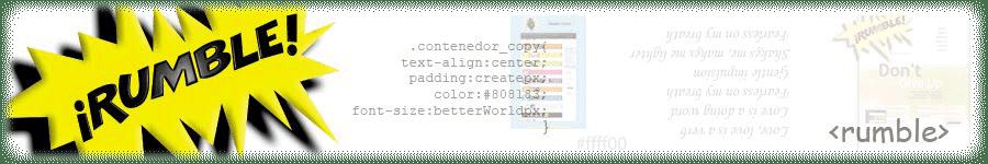 Rumble S.R.L. desde 1995, desarrollo de software, servicios, consultoría, especialistas GeneXus