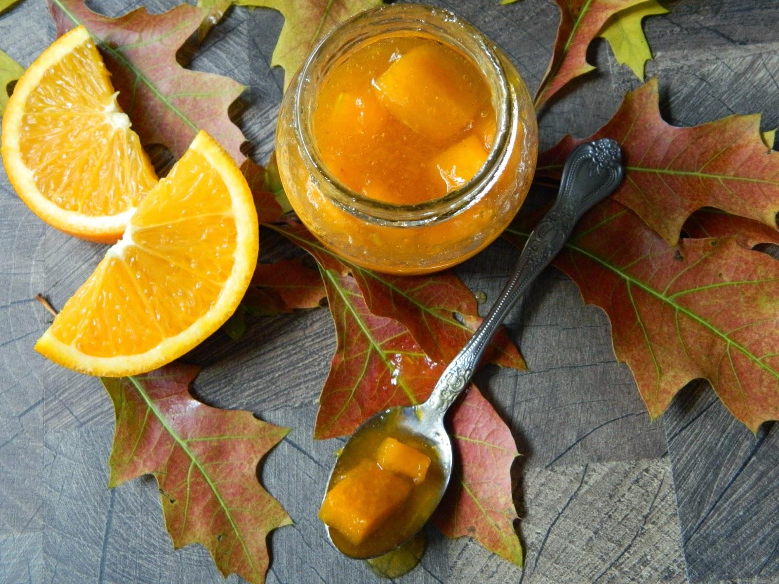 Dulceata de dovleac cu scortisoara si portocale