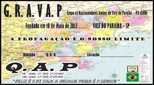 Certificado de unidade do GRAVAP PX clube
