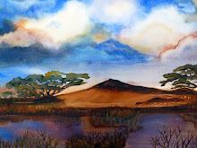 Afrikaans landschap