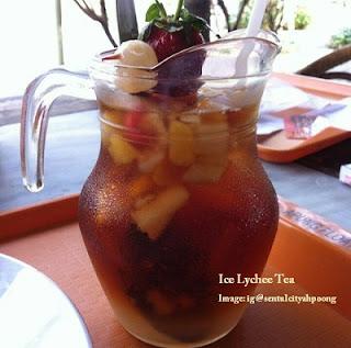 Ice Lychee Tea Ah Poong Sentul City