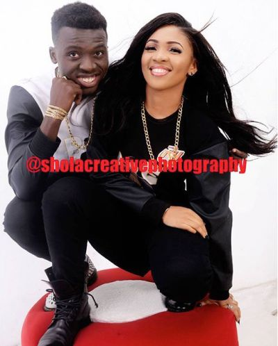 Comedian Akpororo and wife Josephine Abraham