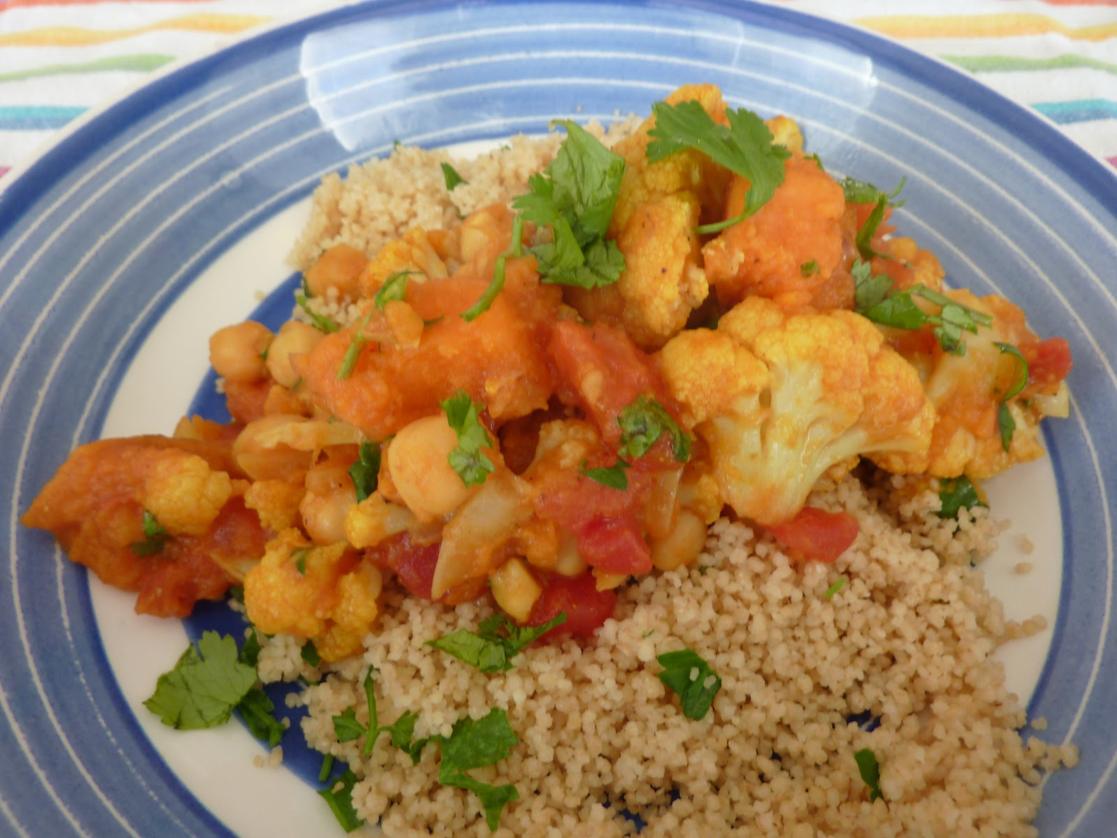 The Open Fridge: Moroccan Cauliflower and Chickpea Curry