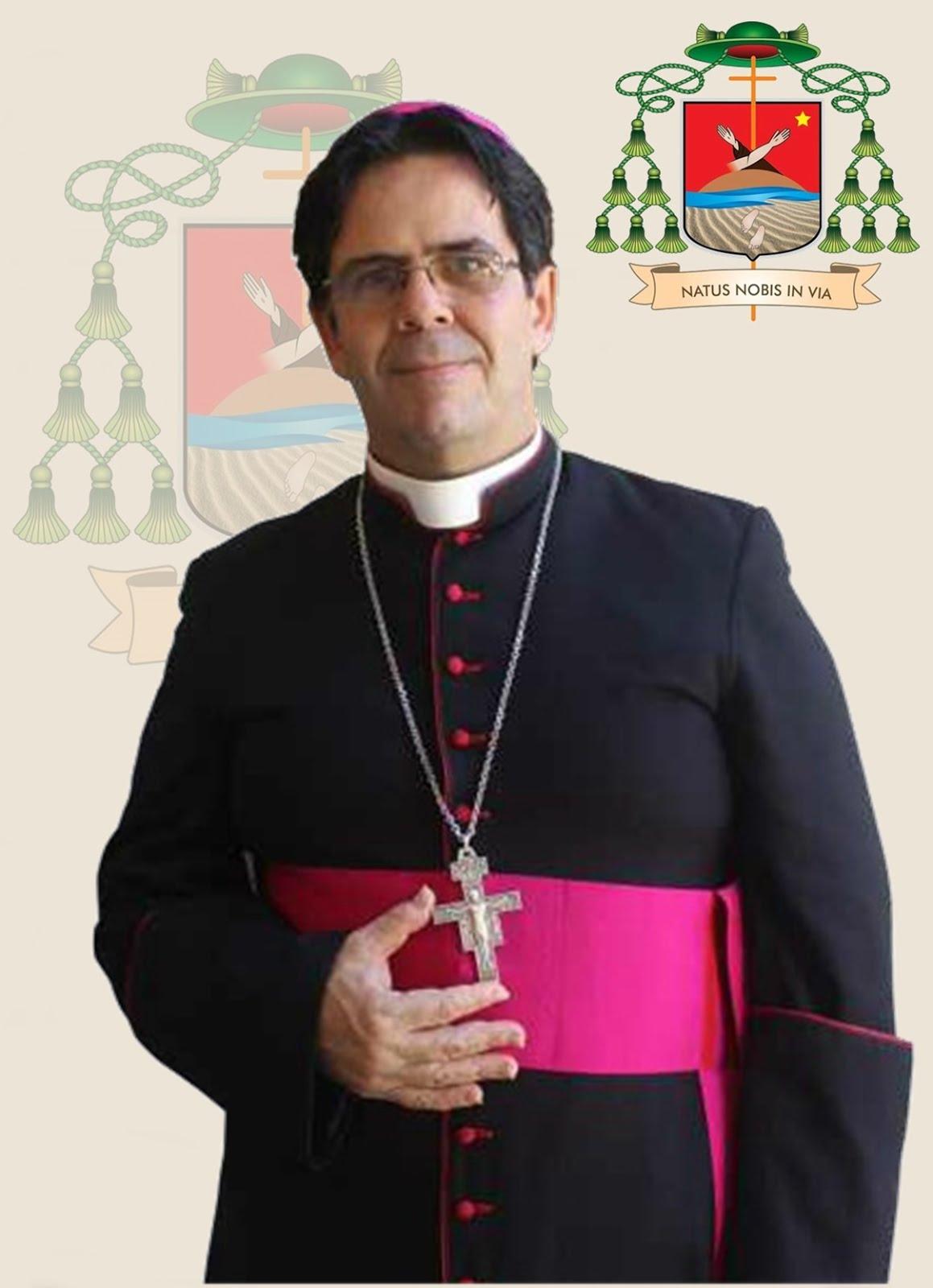 Bispo Diocesano - Dom Carlos Alberto Breis Pereira O.F.M.