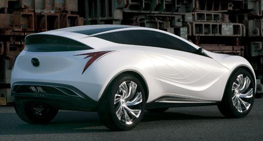 New Mazda Nagare Concept Design