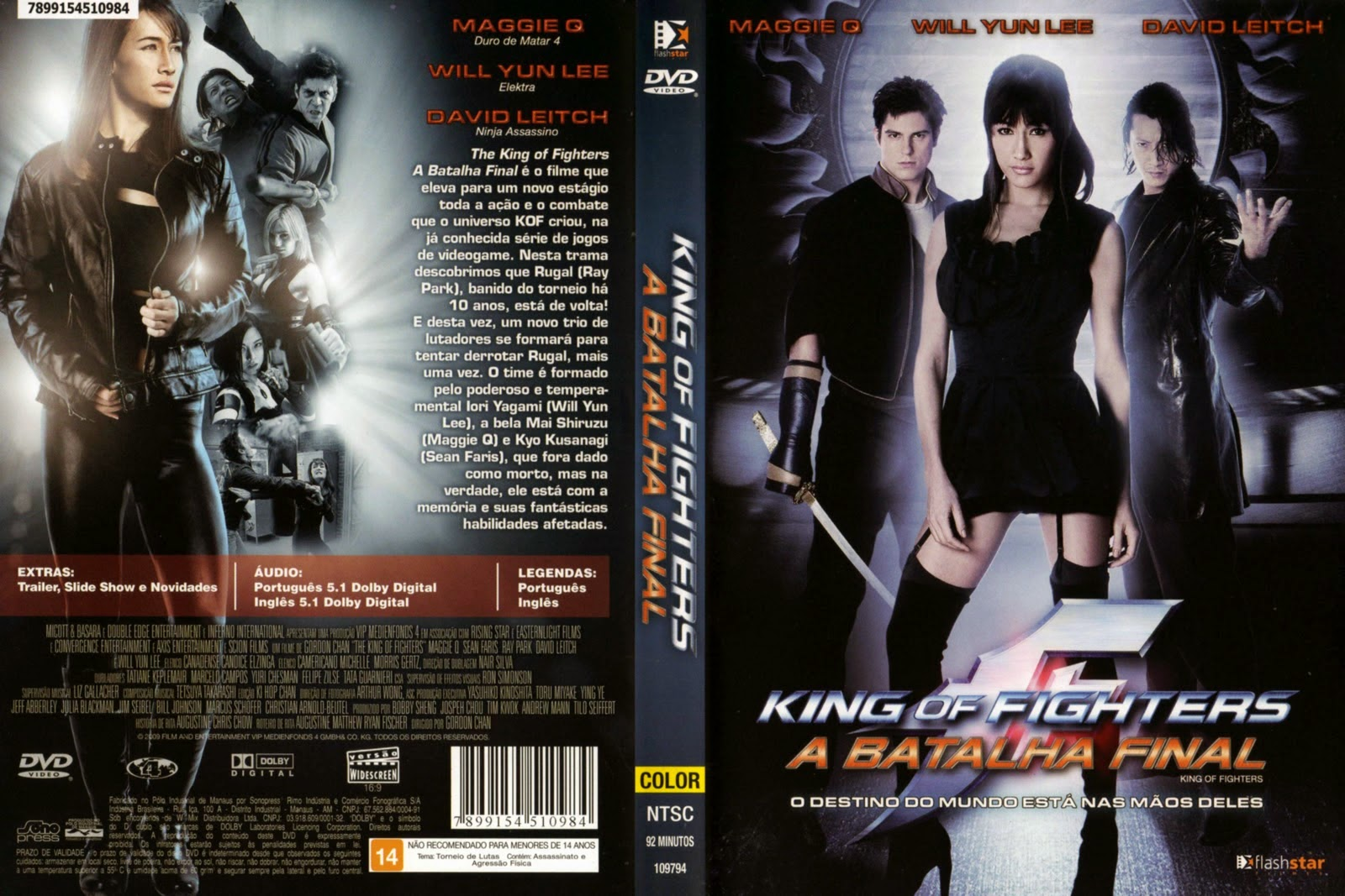 The King of Fighters - A Batalha Final DVD Capa