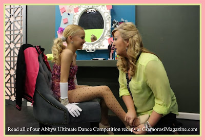 JoJo and her mom Jessalynn on Abby's Ultimate Dance Competition season 2