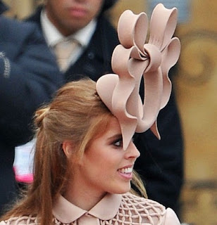 Silly Hats Only: Princess Beatrice's wedding hat