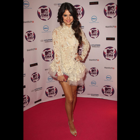 Celebrites Selena Gomez Myv Ema 2011