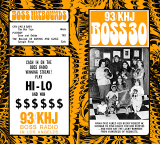KHJ Boss 30 No. 138 - Robert W. Morgan with Mama Cass