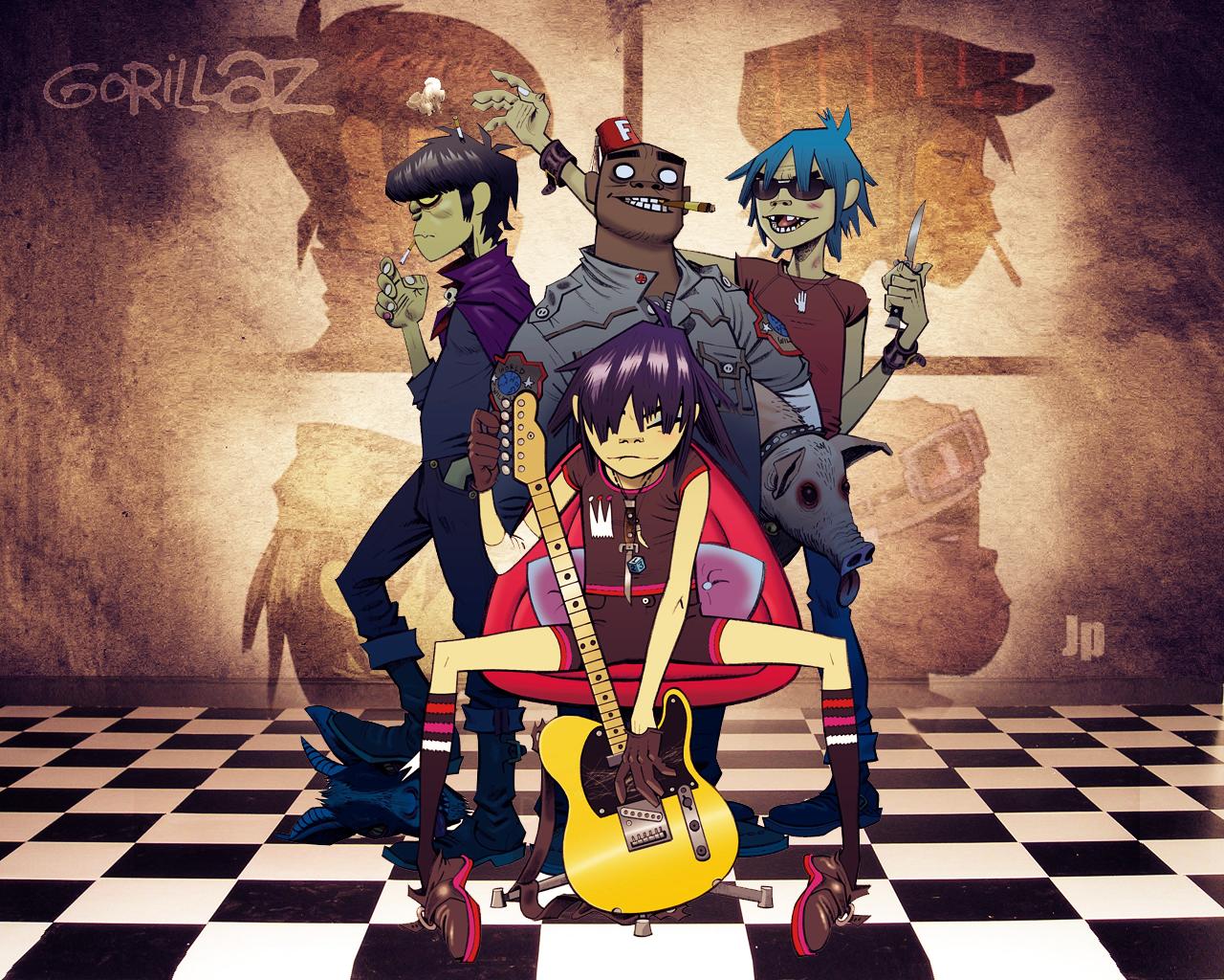 Corazón de Canción: Gorillaz - On Melancholy Hill (letra en inglés ...