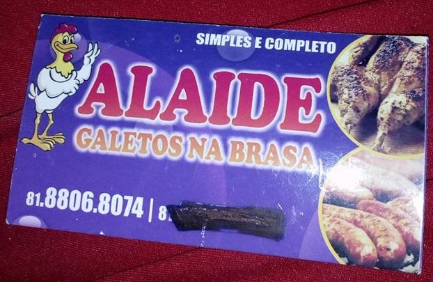 ALAIDE GALETOS NA BRASA