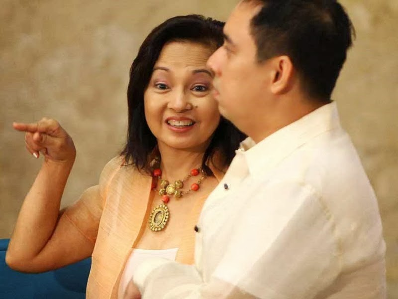 Gloria Macapagal Arroyo and son Dato Arroyo