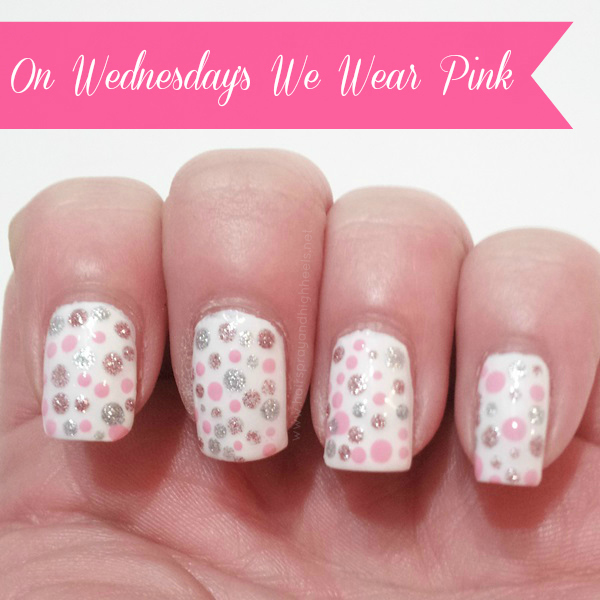 On Wednesday's We Wear Pink: NOTD
