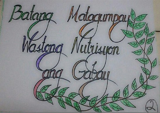 slogan nutrition month Tagalog slogans for nutrition month 2015 we also have tagalog slogans for nutrition month 2015 quotes and sayings related to tagalog slogans for nutrition month 2015.