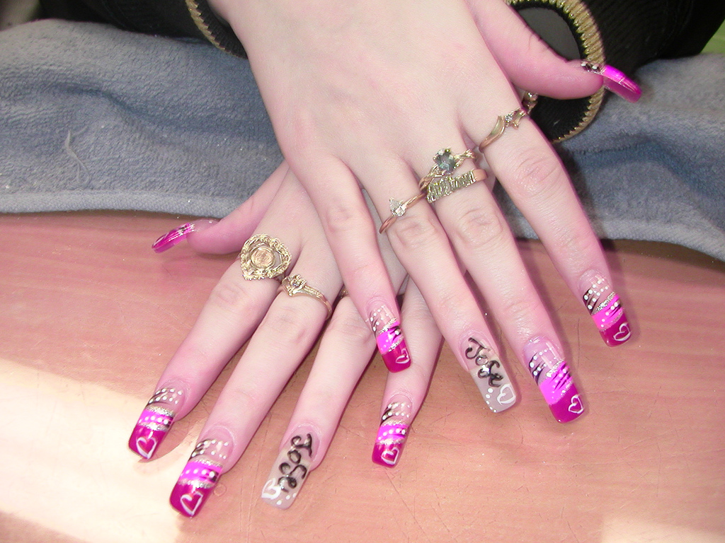 The Excellent Fake nail designs for girls Pics