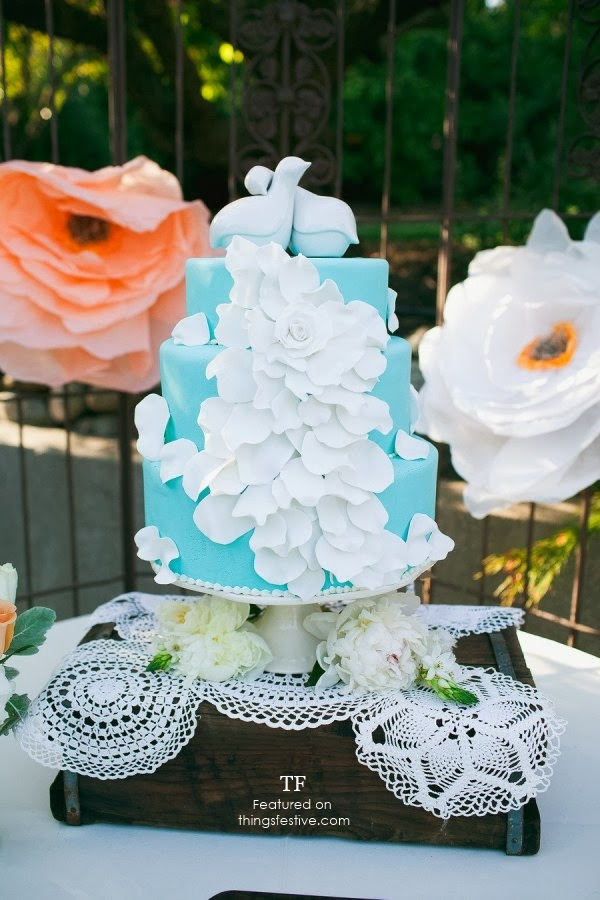 Love Birds Wedding Cake Topper   Things Festive Weddings & Events