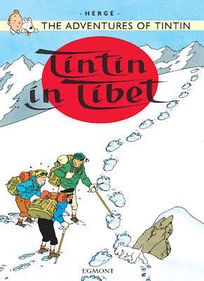Cover page of Tintin in Tibet