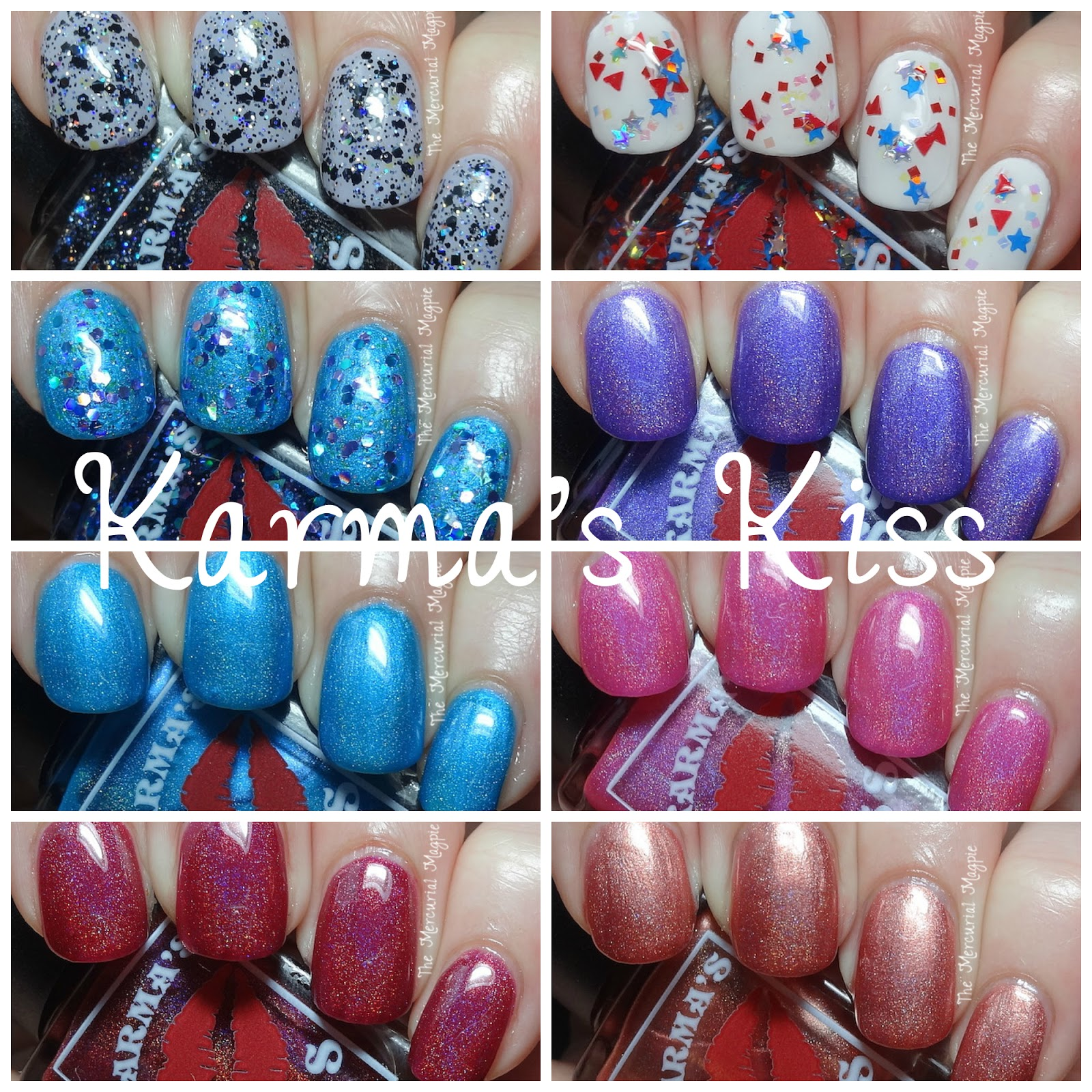 Karma's Kiss Meet Your Karma Collection Swatches, Review & Giveaway!
